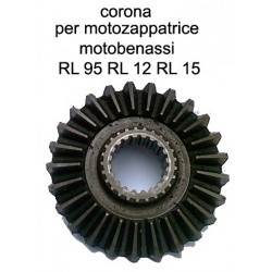 corona per motozappatrice motobenassi RL 95 RL 12 RL 15