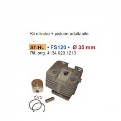 cilindro e pistone per Stihl FS120