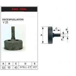 campana frizione decespugliatore Kaaz