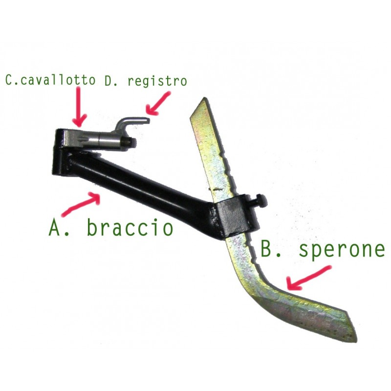 Sperone Motozappa Benassi Macchine Agricole Biondi