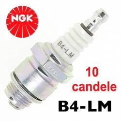 10 candele NGK B4 - LM