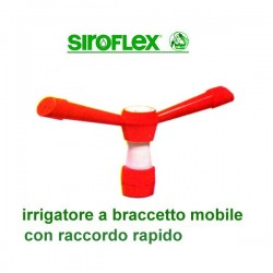 Irrigatore a braccetto mobile SIROFLEX