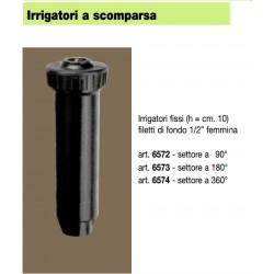 irrigatore Siroflex fisso a scomparsa cm.10