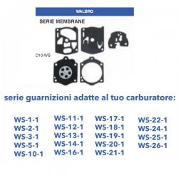 kit membrane e guarnizioni WALBRO D10-WS
