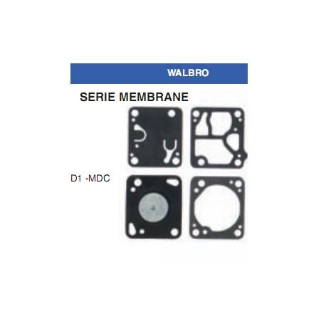 kit membrane e guarnizioni WALBRO D1-MDC