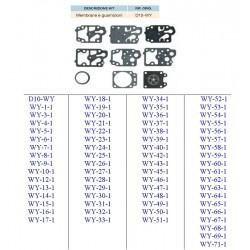 kit membrane e guarnizioni WALBRO D10-WY