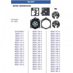 kit membrane e guarnizioni WALBRO D10-HDC