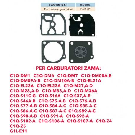 kit membrane e guarnizioni ZAMA GND-12