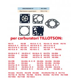 kit membrane e guarnizioni TILLOTSON DG-2-HU