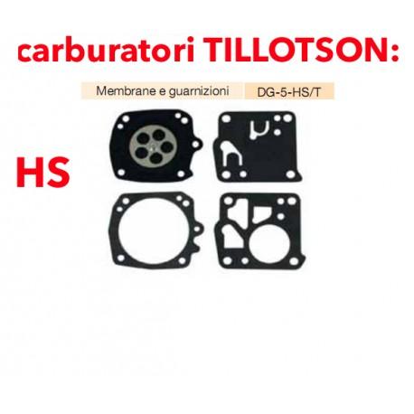 kit membrane e guarnizioni TILLOTSON DG-2-HS