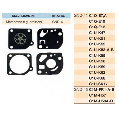 kit membrane e guarnizioni ZAMA C1Q-E7A