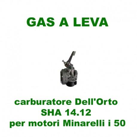 carburatore Dell'Orto SHA 14.12  per motori Minarelli i50
