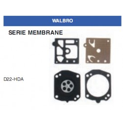 kit membrane e guarnizioni WALBRO D22-HDA