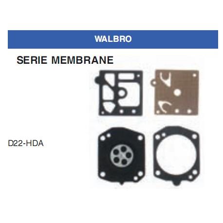 kit membrane e guarnizioni WALBRO D10-SDC
