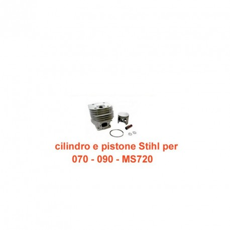 cilindro e pistone per Stihl 070 - 090 - MS720