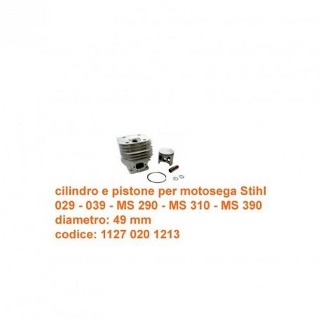 cilindro e pistone per Stihl  039 MS 290 - MS 310 - MS 390