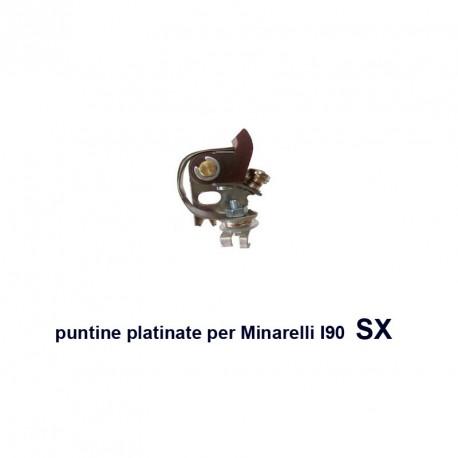 puntine platinate per Minarelli I90