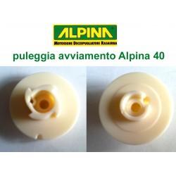 puleggia motosega Alpina 40