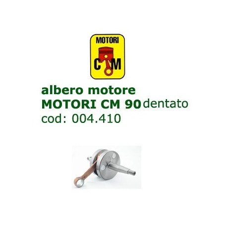 albero motore MOTORI CM 90 dentato