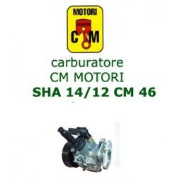 carburatore MOTORI CM 46  SHA 14/12
