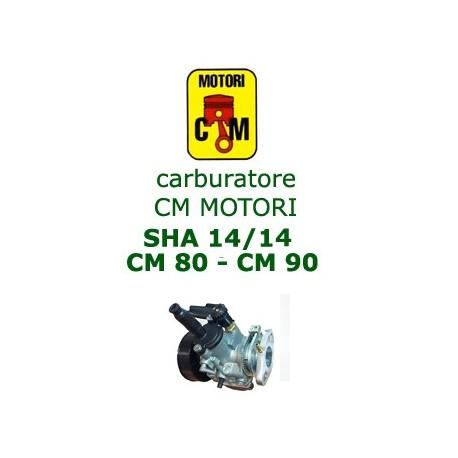 carburatore MOTORI CM 80/90  SHA 14/14