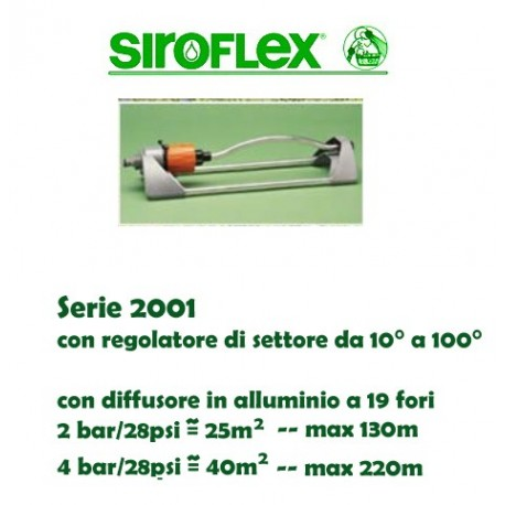 irrigatore oscillante SIROFLEX